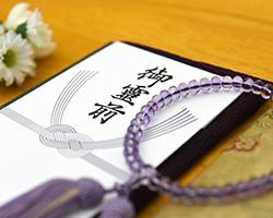 法事で使用する数珠や香典