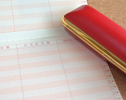 預金通帳と印鑑